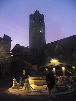 Torre Cívica, el campanon, Piazza Vechia, Bérgamo