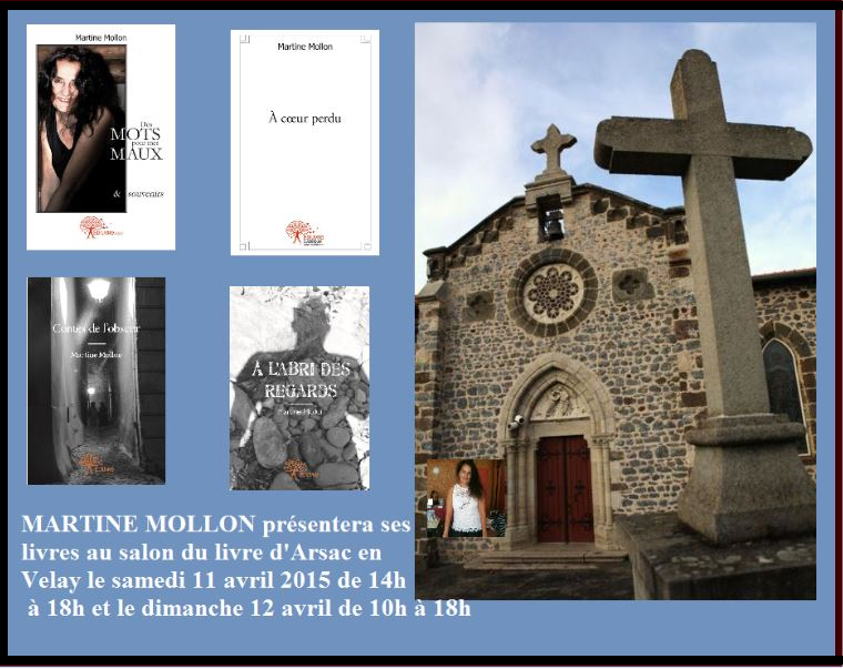 Salon du livre Arsac-en-Velay 2015