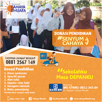 Bantu KAMI bersekolah