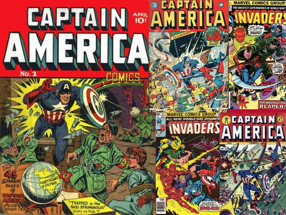 Captain America Comics 1 March 1941 Captain America Along With
