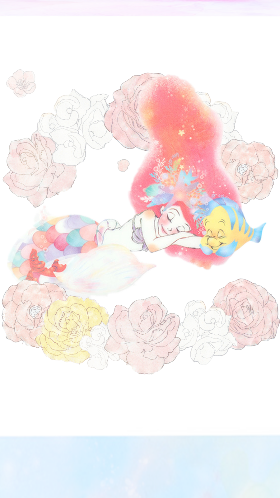 my darling rainbow  magical disney themed mobile backgrounds