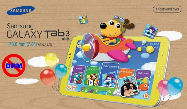 Sync iTunes, Amazon and Digital Copy movies to Galaxy Tab 3 Kids Edition