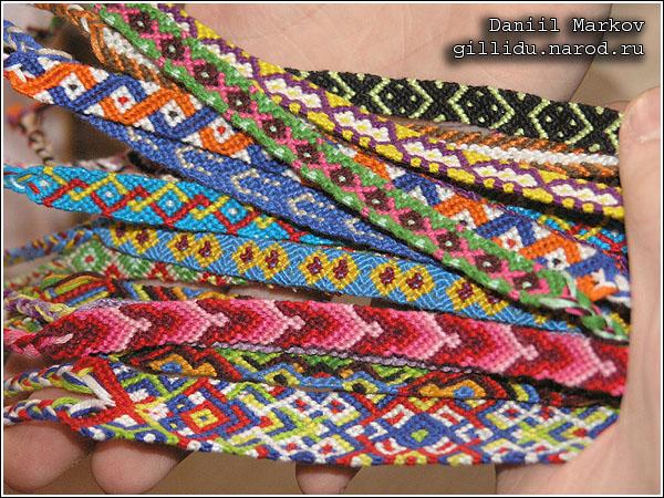 Плетение фенечек на заказ