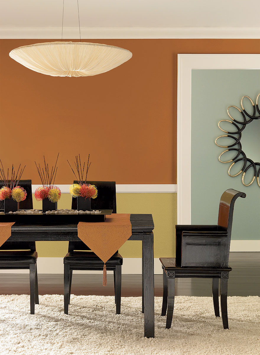 dining room color ideas with trends color home design