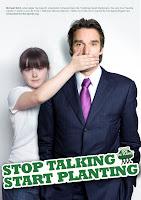 stop talking. Start planting