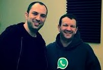 Penemu whatsapp adalah Brian Acton dan Jan Koum