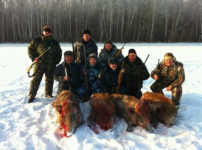 Охота в Республике Башкортостан