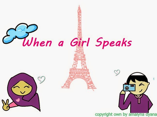 When a Girl Speaks
