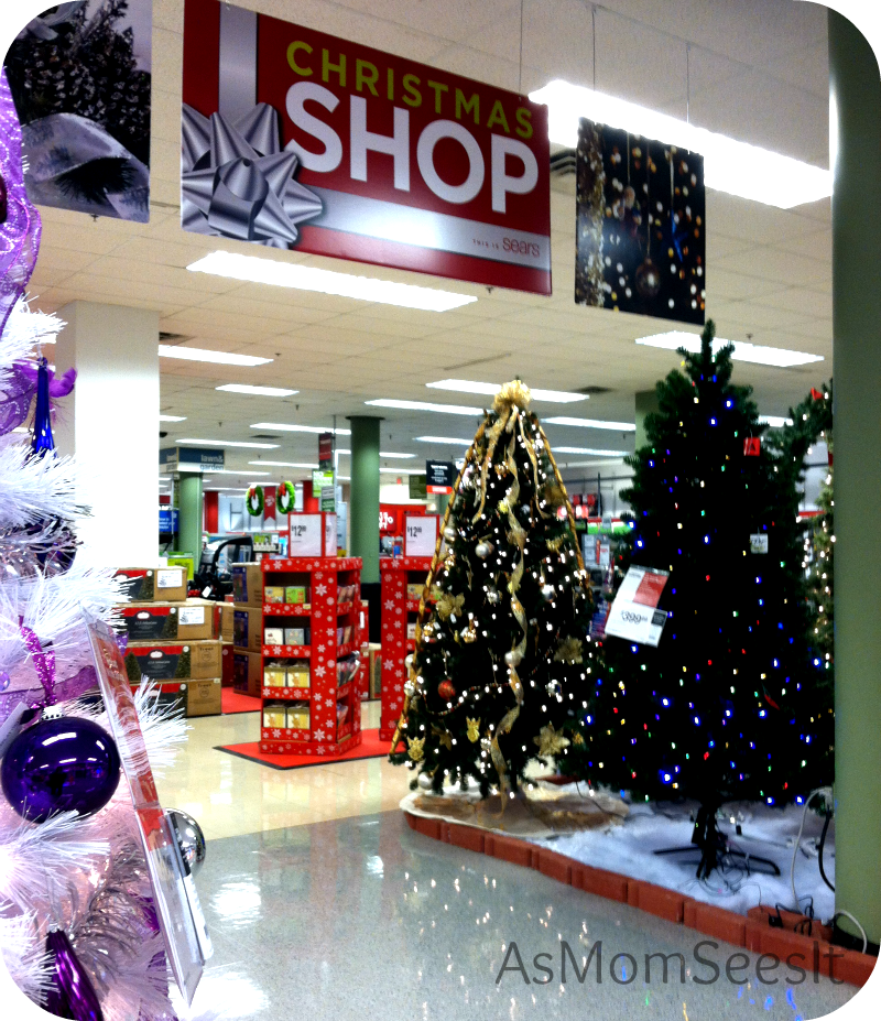 Get In The Holiday Spirit With Sears' Christmas Shop