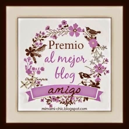 2º Premio al Mejor Blog Amigo
