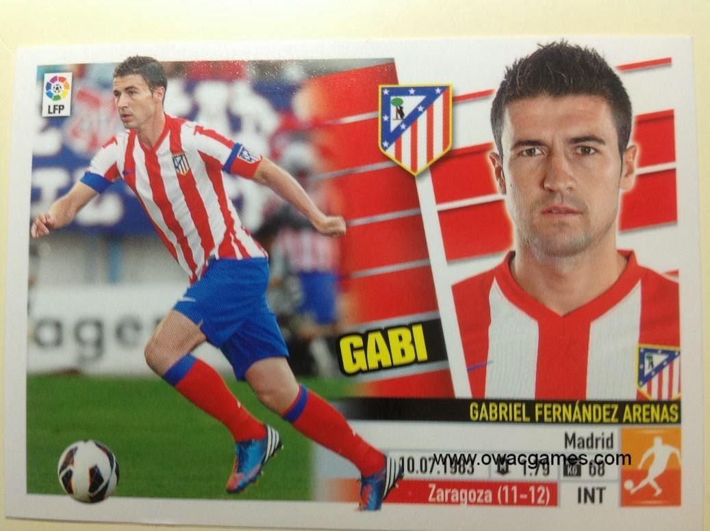 Liga ESTE 2013-14 Atl. de Madrid - 9 - Gabi