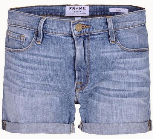 Model celana pendek denim dari Frame Denim ($180)