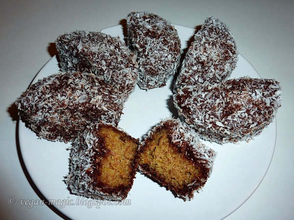 Muffin Lamingtons