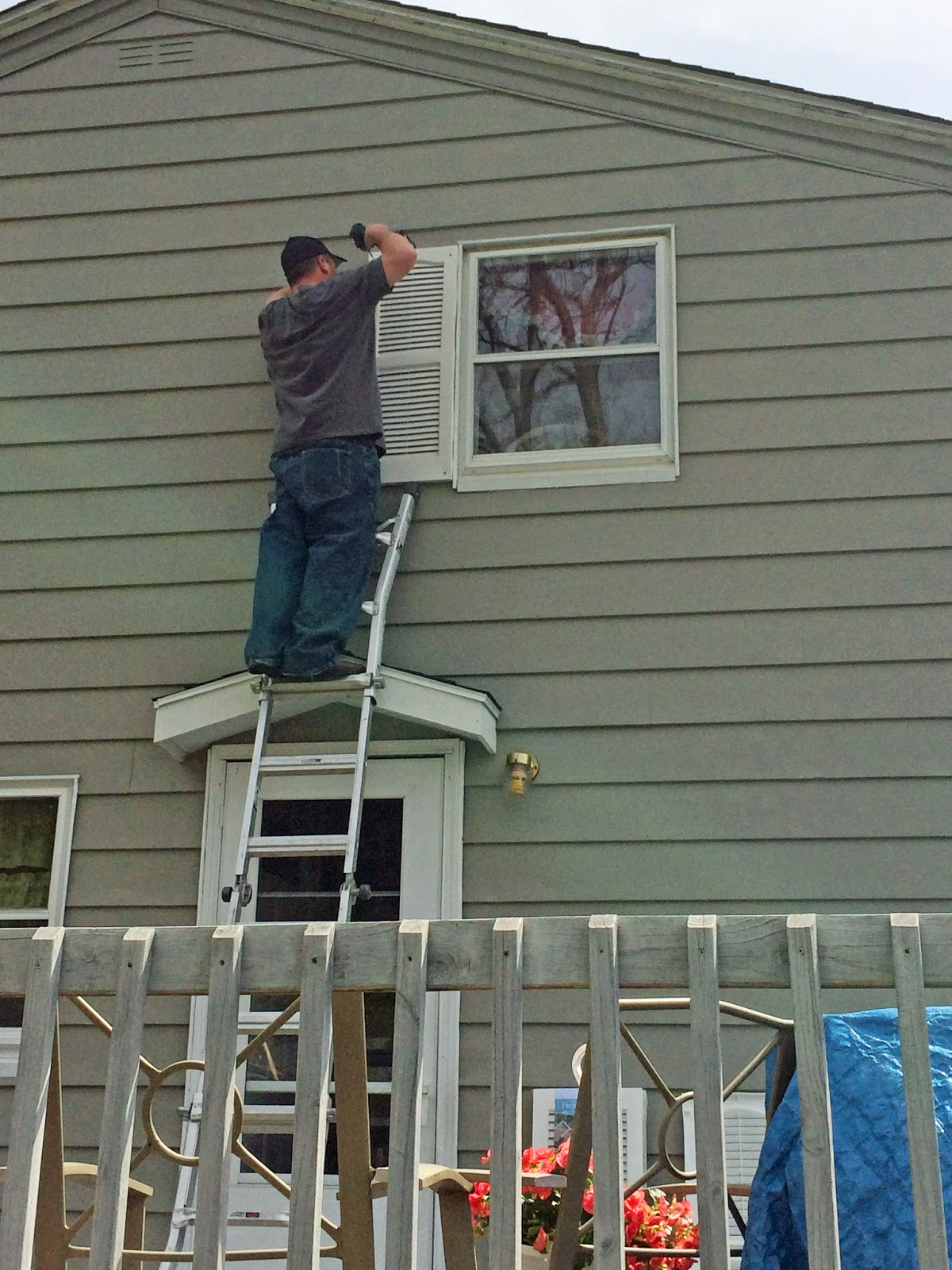 hanging shutters