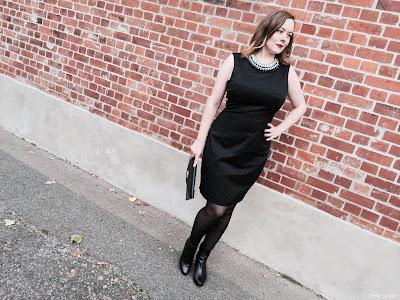 Der Klassiker: Die schwarze Stiefelette