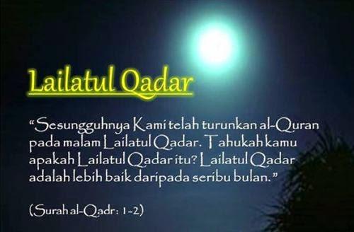 Gambar Malam Lailatul Qodar Surah Al Qadr Malam Seribu Bulan Doa Rasulullah