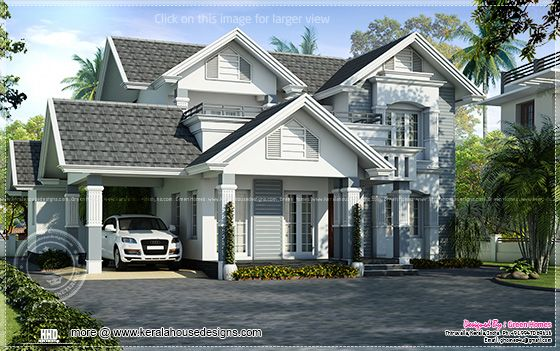 European Style Houses In Kerala House Design Ideas