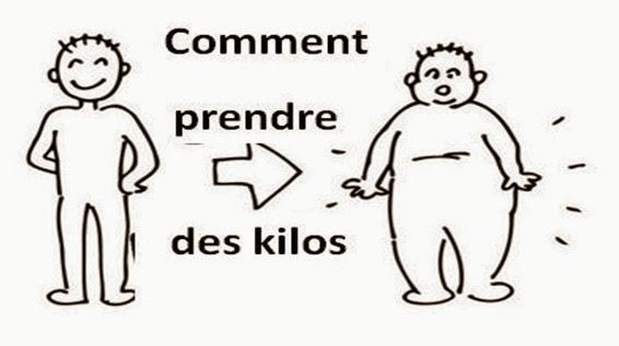 comment prendre des kilos rapidement
