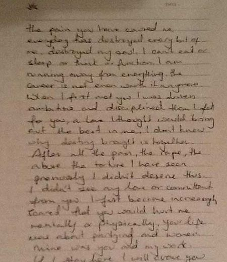 Jiah Khan's Suicide Note hot on web