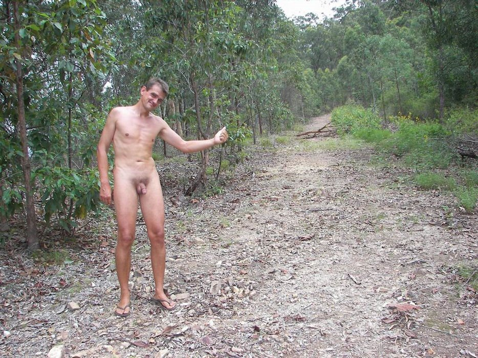 Amateur Men Naked In Nature