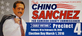 "VOTE ""CHINO"" 4 COUNTY COMMISSIONER, PCT. 4"