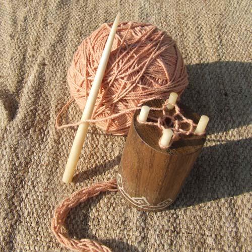 French Knitting Spool : Sorazora s knitting spool