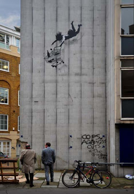 Shop 'Till You Drop - The Banksy Way
