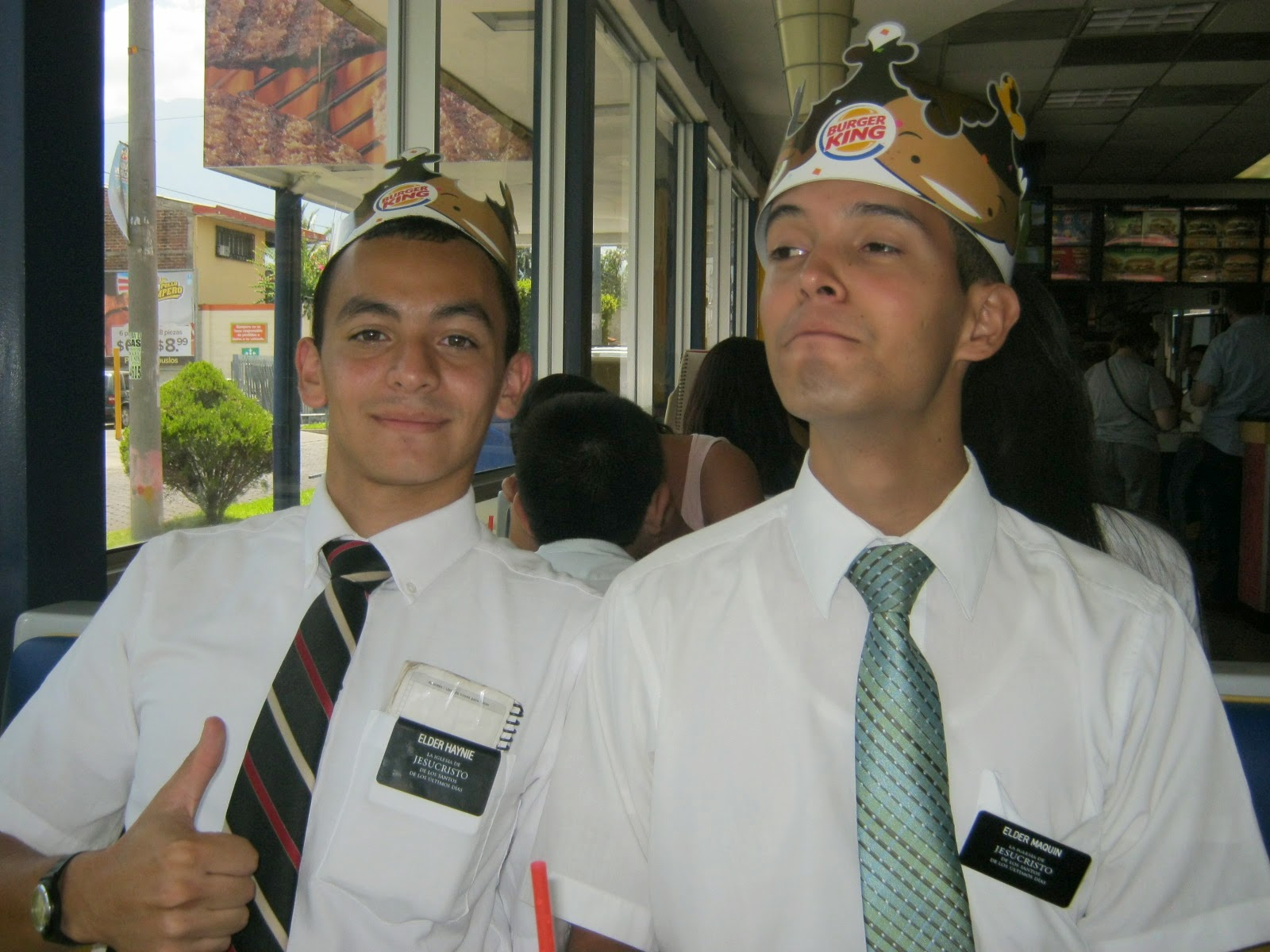 Elder Hyanie and Elder Maquin