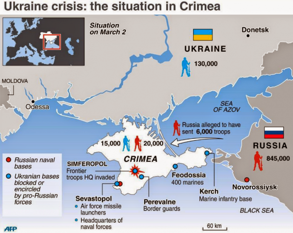 US Official Claims 6,000 Russian Troops In Complete Control Of Crimea - Crisis Map Update