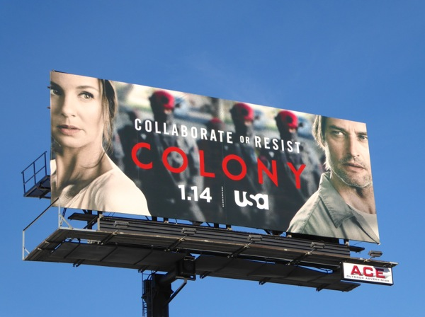Colony series premiere billboard