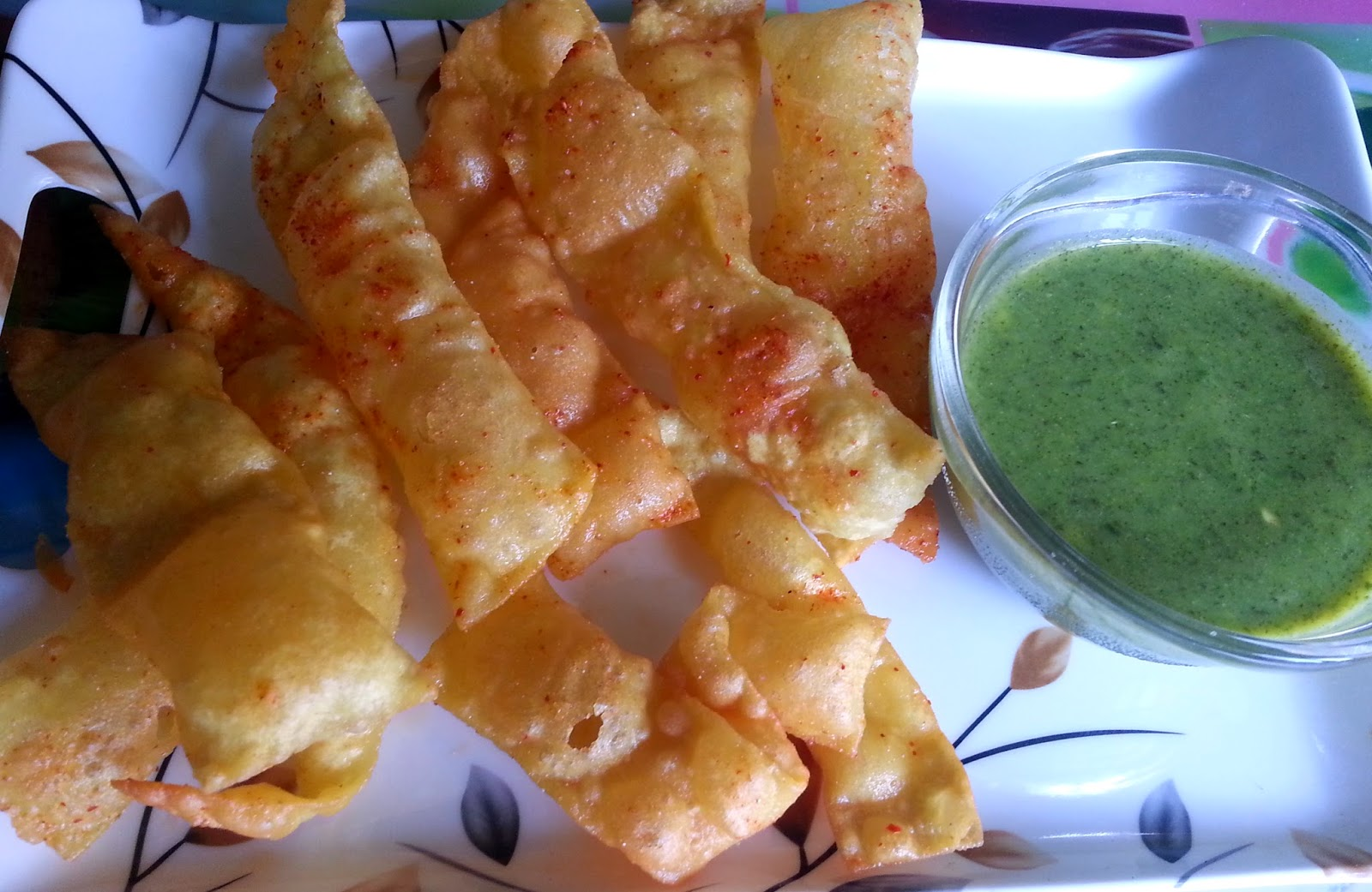 Chorafalli Fafda recipe