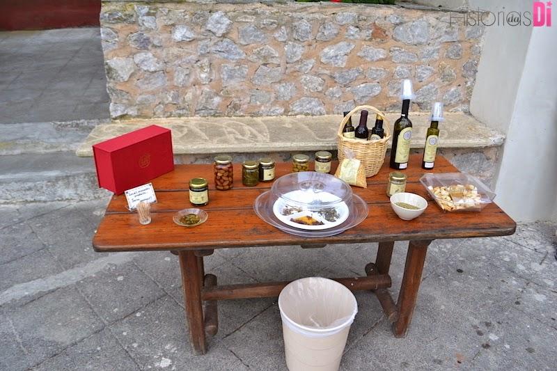 Degustação de vinhos gregos e comidinhas típicas