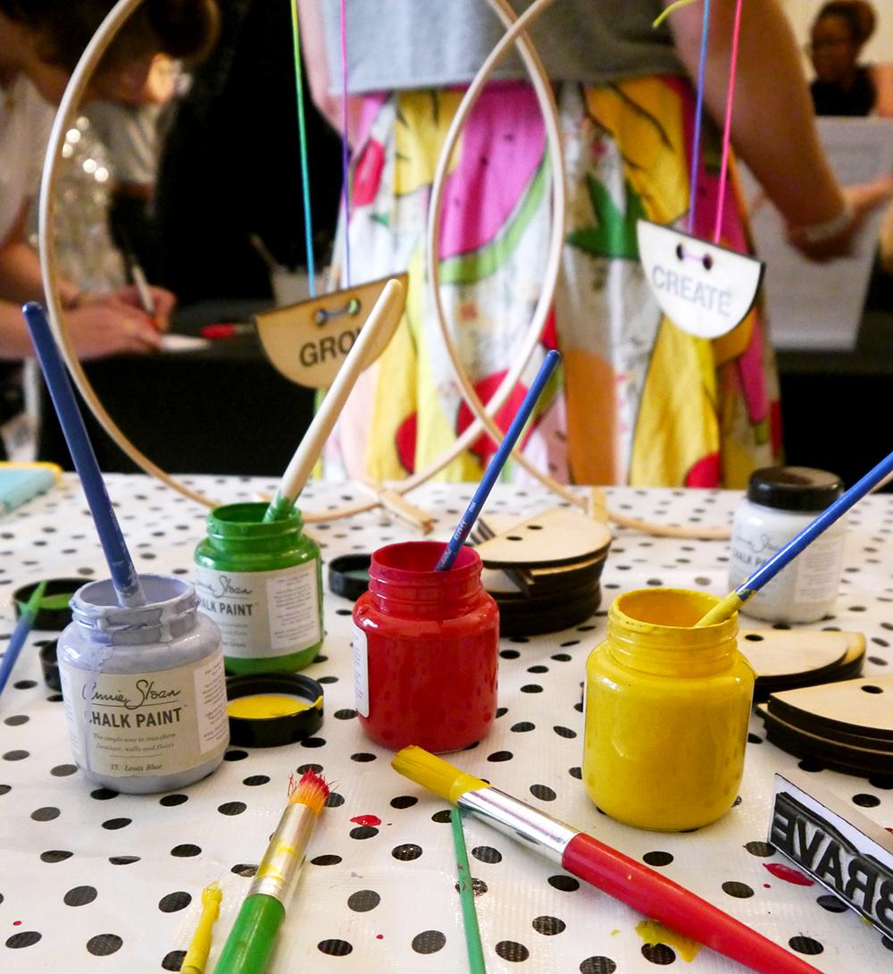 Blogtacular, London, 2015, blog, blogger, Scottish blogger, craft, workshop, Annie Sloan, chalk paint, how to, wax, easy