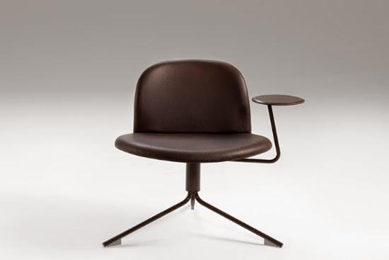 Podio silla sat lite de richard hutten for Sillas escolares para zurdos