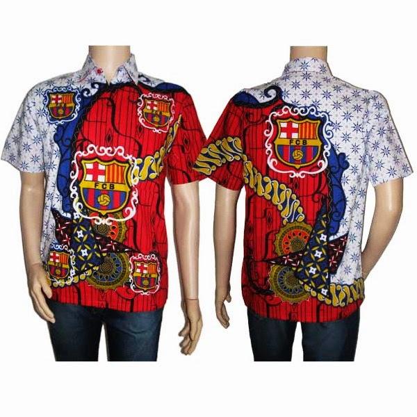 batik bola club barcelona