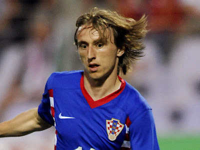 Luka Modric Real Madrid 2012