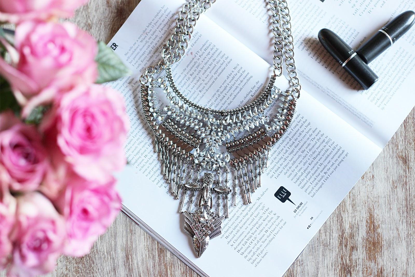 dylanlex, silver statement necklace, zulu lulu lookbook, jewellery cape town, giveaway