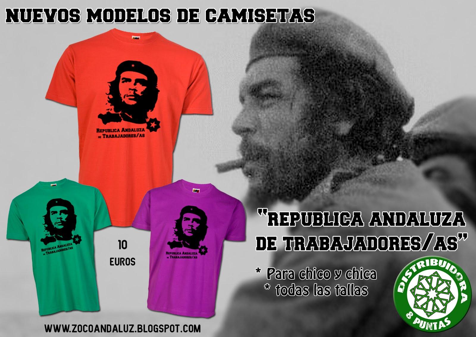 Camiseta República Andaluza Trabajadores/as, Che Guevara