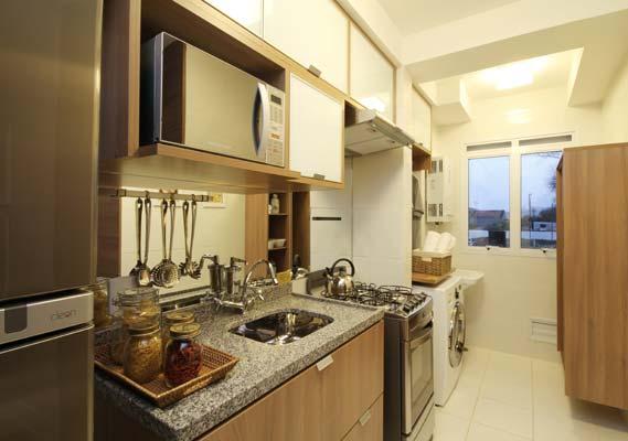 decoracao rustica para ambientes pequenos:Arquitetura Feminina: Apartamento Decorado: Cozinhas – Parte 2