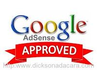 google adsense menerima blog ini