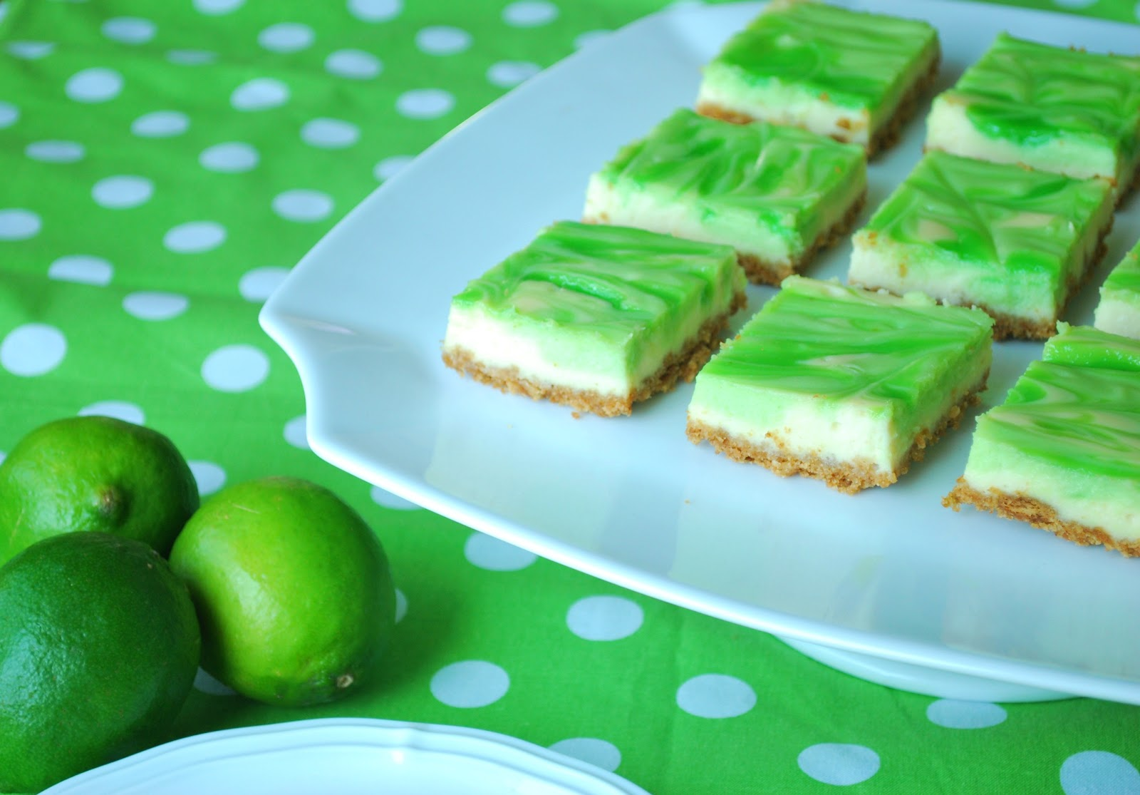 Just Another Day in Paradise: Key Lime Cheesecake Bars
