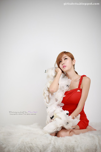 4 Choi Byeol Yee-Hot Red-very cute asian girl-girlcute4u.blogspot.com