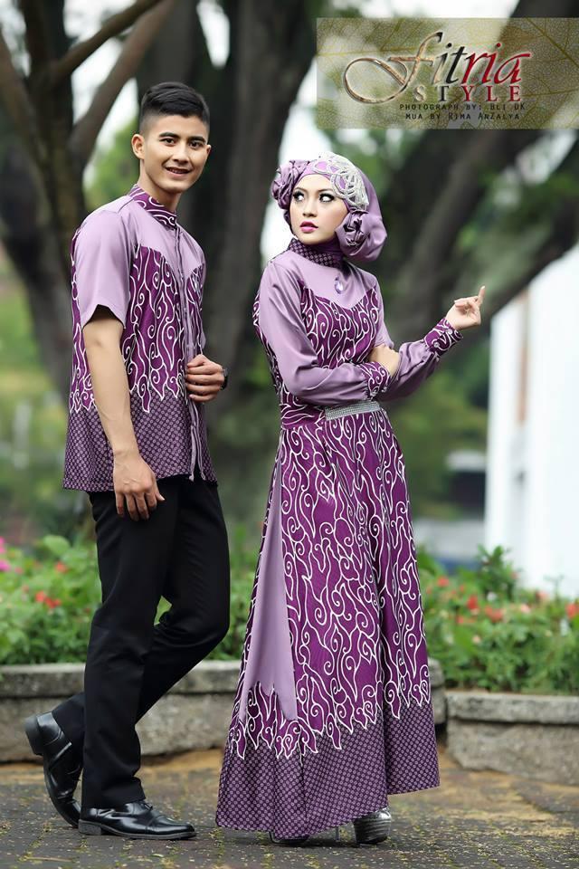 batik muslimah couple