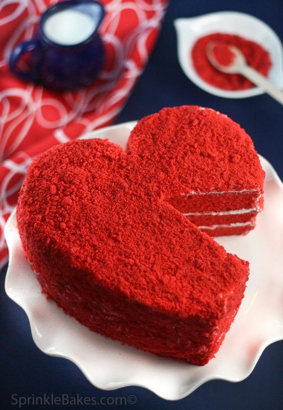 Red Velvet Cake Mix Bars