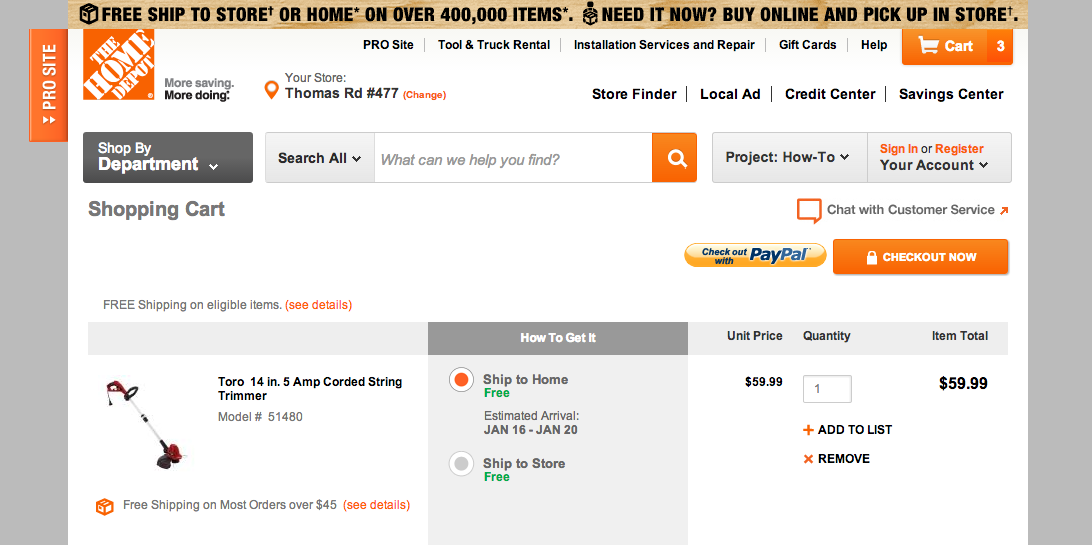 Home Depot Online Coupons