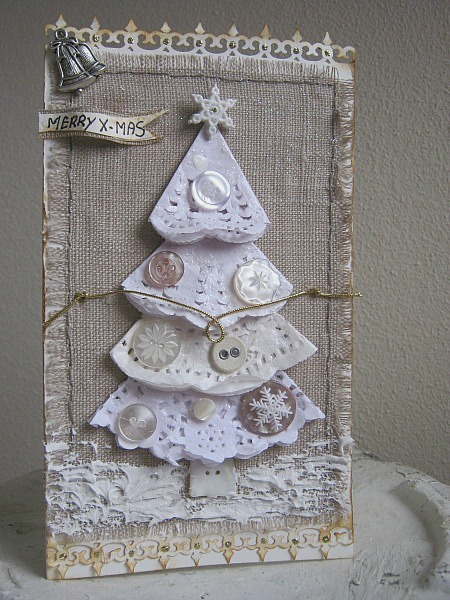 Paulien van den bosch round robin for cards for Table de noel shabby chic
