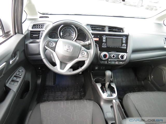 Honda Fit 2016 EX - painel de instrumentos