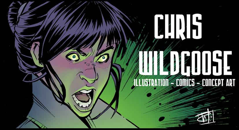 Chris Wildgoose Sketch Book
