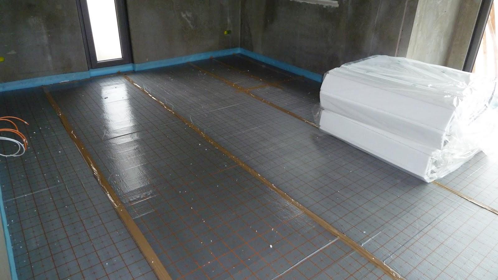hausbau von christian und jeannette mit der firma deko hausbau gmbh fu bodenheizung. Black Bedroom Furniture Sets. Home Design Ideas