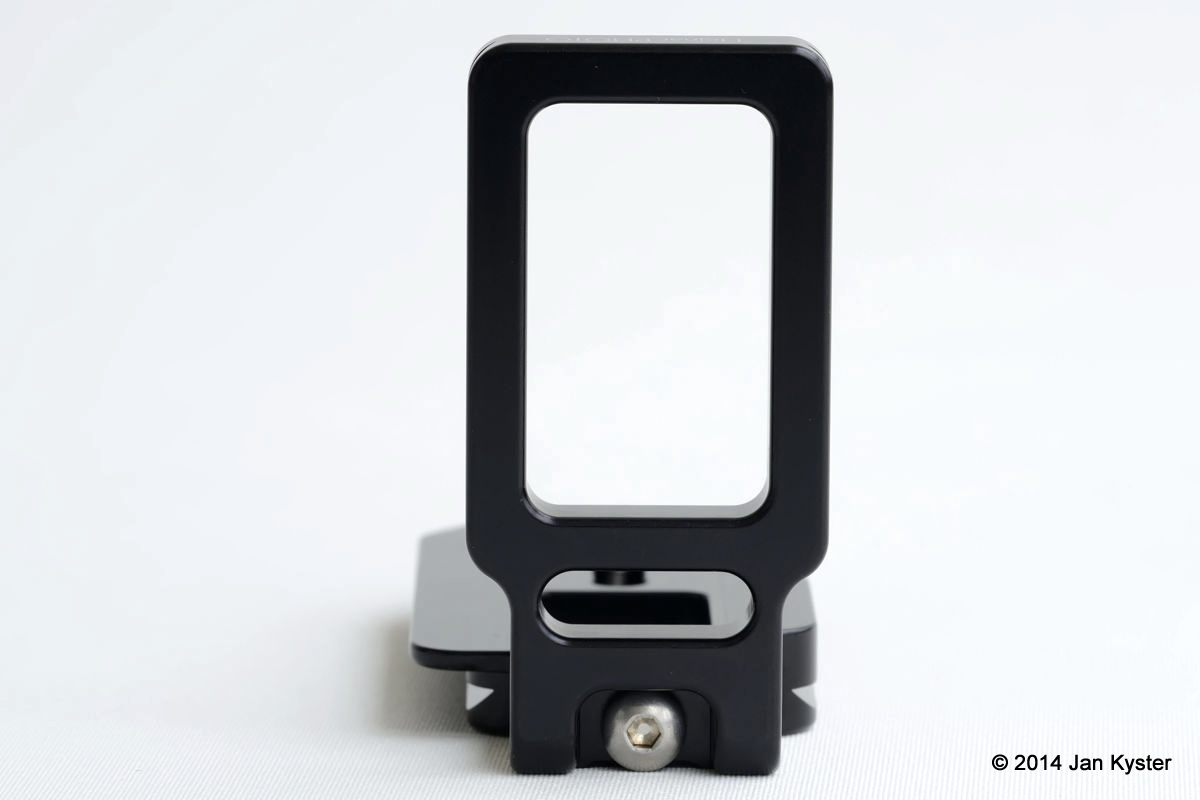 Hejnar ND800 Modular L Bracket side view
